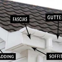 we fit guttering and soffits as well as cladding
